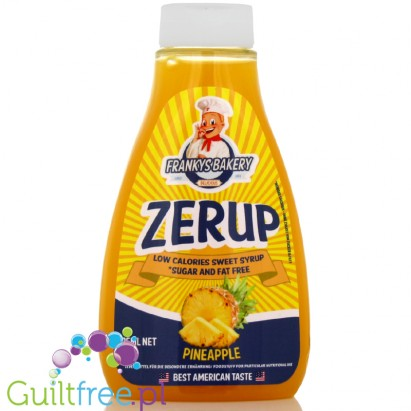 ZerUP Frankys Bakery 425ml Pineapple