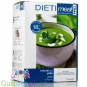 Dieti Meal Velouté aux pois - a high-protein soup flavored with green peas