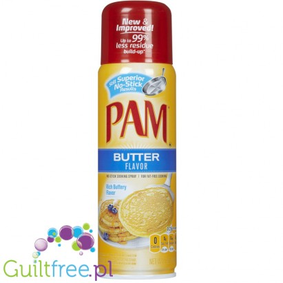 PAM Butter me-up no-stick cooking spray