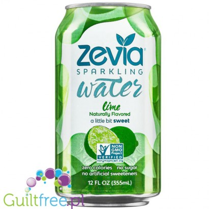 Zevia Sparkling Water Lime