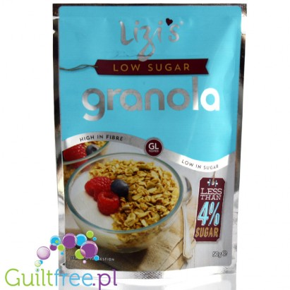 Lizi's Low Sugar Granola 50g