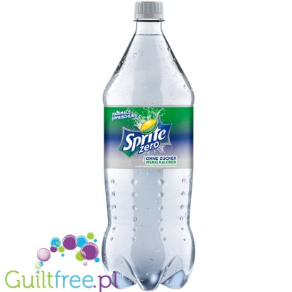 Sprite Zero - carbonated low-calorie refreshing drink with a natural lemon and lime flavor, contains sweeteners