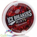 Ice Breakers Cinnamon sugar free mints with cooling crystals