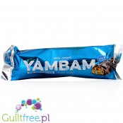 YamBam 33% High Protein Coconut Peanut Protein Bar with Milk Chocolate Coating