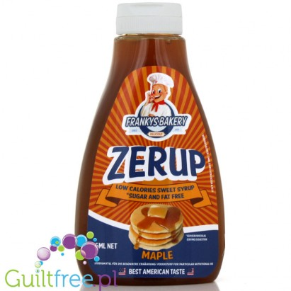 ZerUP Frankys Bakery 425ml  Maple