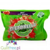 Dietorelle Gum Candies With Sweeteners Strawberry Flavors - Gluten-free strawberry jelly sugar-free flavors, contain sweeteners