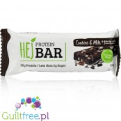 HEJ Nutrition protein bar Cookies & Milk