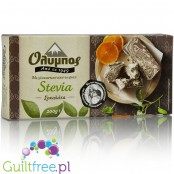 Olympos sugar-free halves with chocolate-flavored stevia