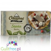 Olympos halves without sugar and vanilla flavored stevia
