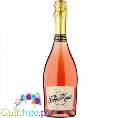 The Bees Knees Sparkling Rosé Alcohol Free 75cl