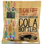 Free From Fellows Cola Bottles 100g, gluten free, sugar free vegan jellies