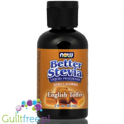 Now Better Stevia English Toffee