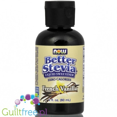 NOW Foods Better Stevia French Vanilla Flavored