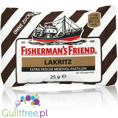 Fisherman's Friends Lakritz