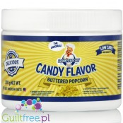 Franky's Bakery Candy Flavor Powdered Food Flavoring, Buttered Popcorn
