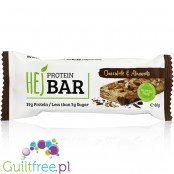 HEJ Nutrition protein bar Chocolate & Almonds