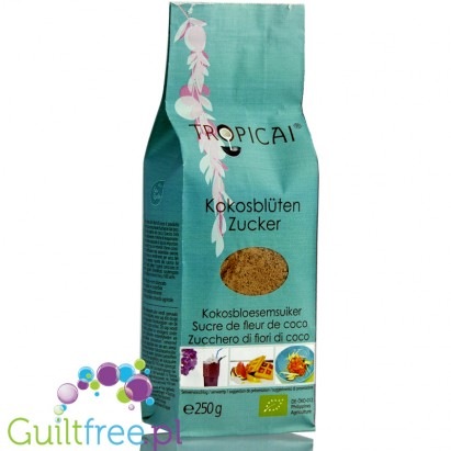 Tropicai bio sugar from coconut palm buds