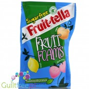 Fruittella sugar free fruit foams with sweeteners