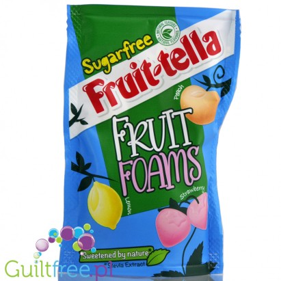 Fruitella sugarfree fruit foams