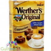 Werther's Original Cappuccino candy sugar-free, sugar free, contains sweetener