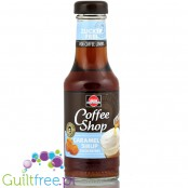 Schwartau Coffee Shop Caramel Sirup - Caramelised coffee syrup, sugar free, contains sweetener