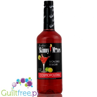 Jordan's Skinny Mixes Cosmopolitan - Naturally flavored concentrate for the preparation of alcoholic beverages, does not contain