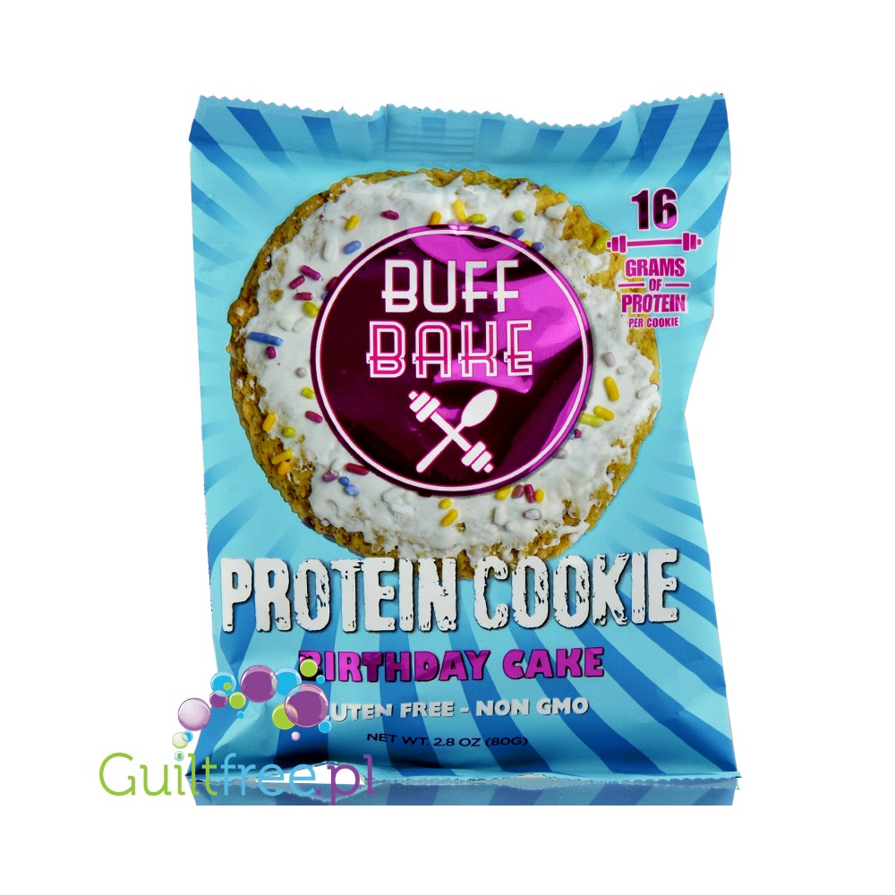 Buff Bake Protein Cookie Birthday Cake Loading Zoom