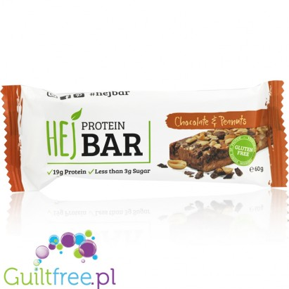 HEJ Nutrition protein bar Chocolate & Peanut
