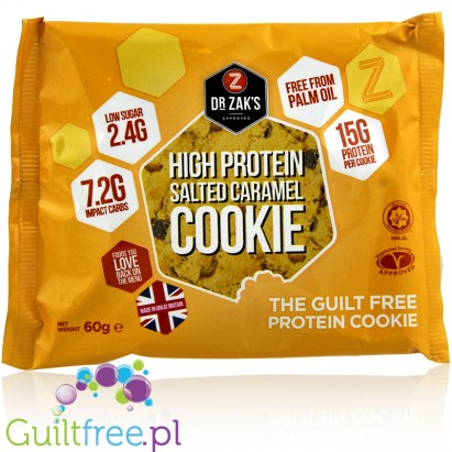 Dr. Zak's Protein Cookie Salted Caramel