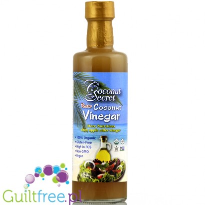 Coconut Secret Raw Coconut Vinegar soy free