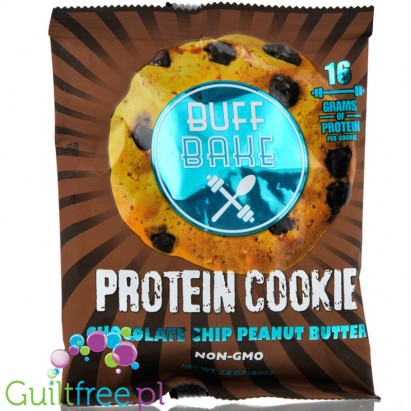 Buff Bake Protein Cookies, Chocolate Chip Peanut Butter