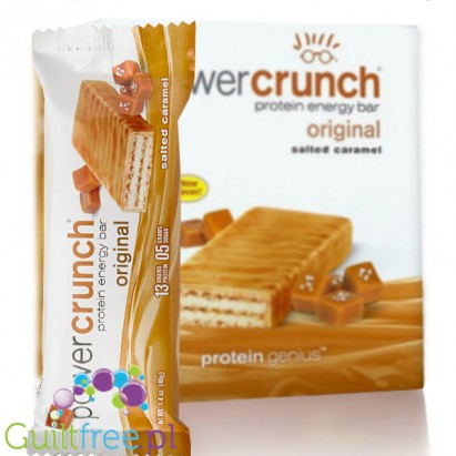 Power Crunch Salted Caramel box of 12 bars