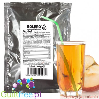Bolero Drink Instant Fruit Flavored Drink with sweeteners Apple