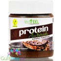 Vegifeel vegan sugar free, high protein chocolate-hazelnut spread