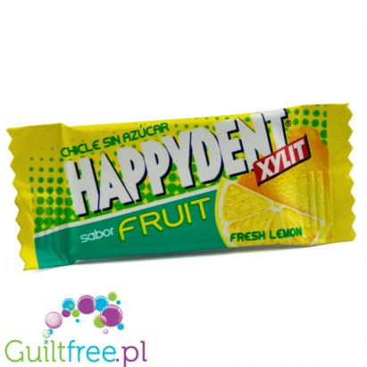 Happydent Fresh Lemon, sugar free chewing gum
