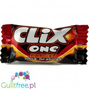 Clix One Cherry & Peach, sugar free chewing gum with xylitol