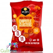 Dr Zak's  High Protein Clusters, Chipotle