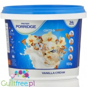 Feel Free Porridge, Vanilla Cream 34g protein, with BCAA and HMB