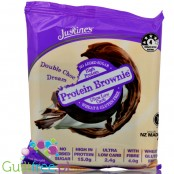 Justine's Cookies Protein Brownie Double Choc Dream