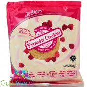 Justine's Cookies Protein Cookie Raspberry White Choc
