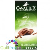 Cavalier Stevia no sugar added milk chocolate