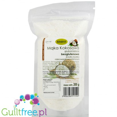 Efavit skimmed fat from coconut pulp
