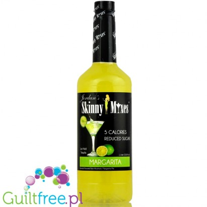Jordan's Skinny Mixes Margarita - Naturally flavored concentrate for the preparation of alcoholic beverages, does not contain al