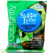 GoLightly Sugar Free Chocolate Mint candy - Peg Bag 78g