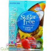 GoLightly Sugar Free Tropical candy - Peg Bag 78g