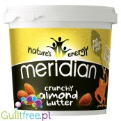 Meridian crunchy almond butter 100% nuts - Almond butter roasted almonds, coarsely ground, with no added sugar and no salt