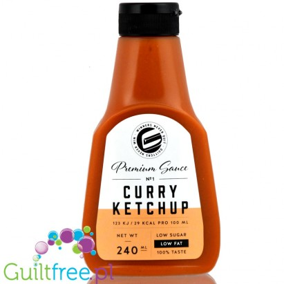 Got7 Curry Ketchup bez cukru