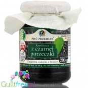 Pięć Przemian- blackcurrant jam with xylitol, no sugar