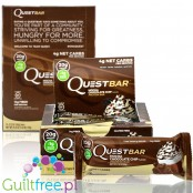 Quest Bar Mocha Chocolate Chip box of 12 bars
