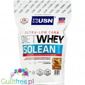 USN Ultra-Low Carb Diet Whey Isolean, Peanut Butter, 0,45kg